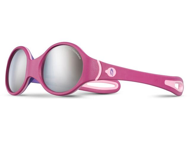 Julbo Baby 2-4Y Loop Spectron 4 Sunglasses Baby 2-4Y Fuchsia/Purple/Pink-Gray Flash Silver